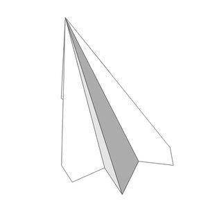 free max mode paper airplan