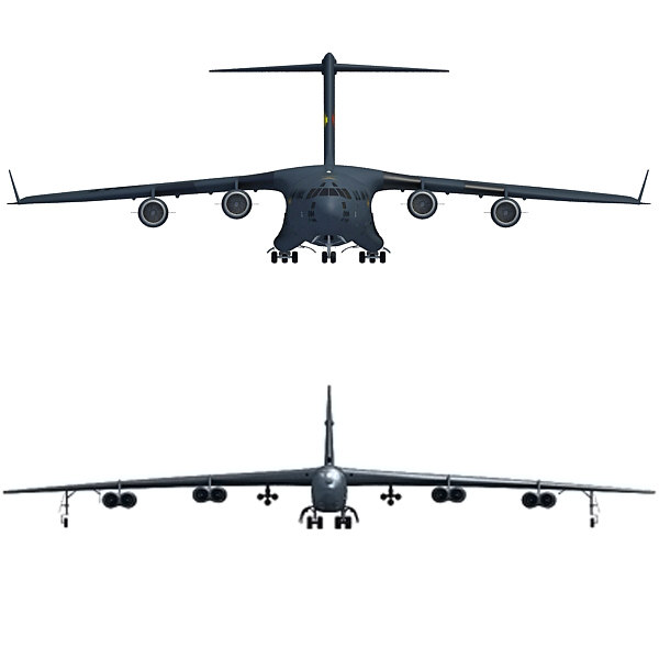 3d aircraft c-17 globemaster model