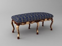 Baroque Style Bench