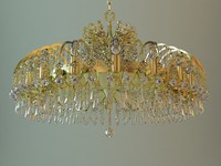 maya chandelier details