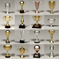3ds max trophies