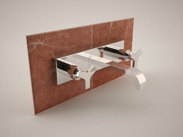 3d grohe allure 20144 - model