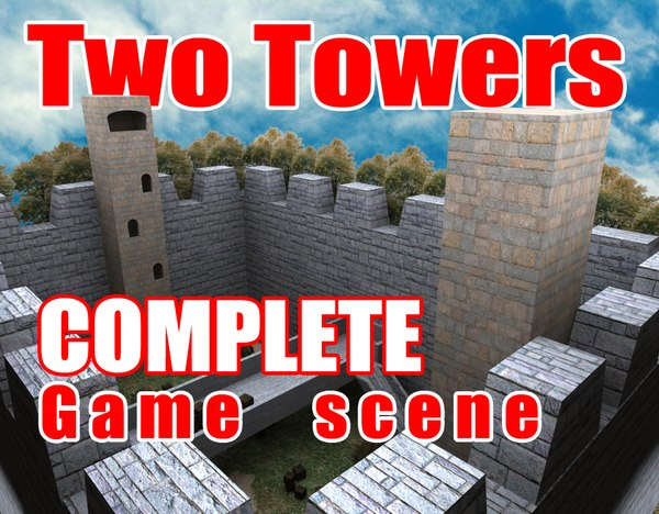 max complete scene towers games