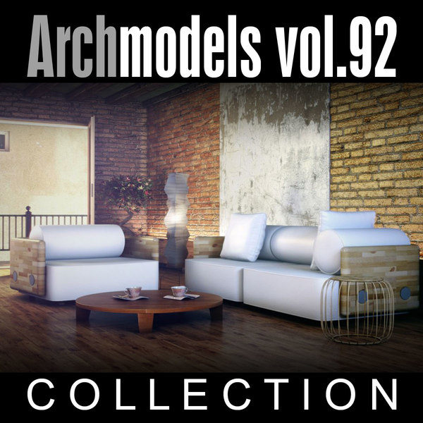 archmodels vol 92 furniture 3d model