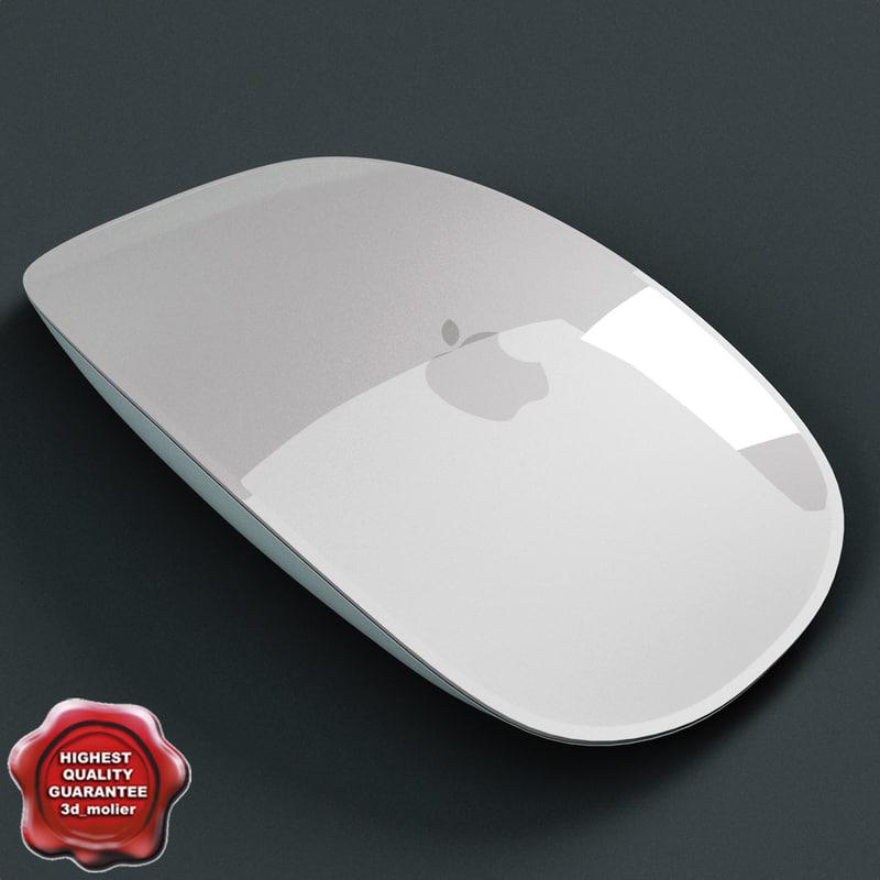 apple mouse 3d model