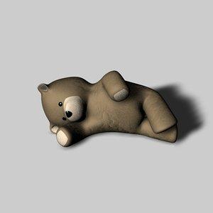 3ds max teddy bear