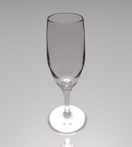 champagne glass 3ds