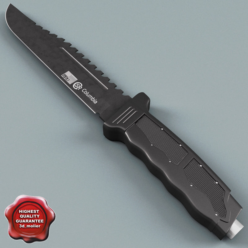 3d 3ds knife columbia