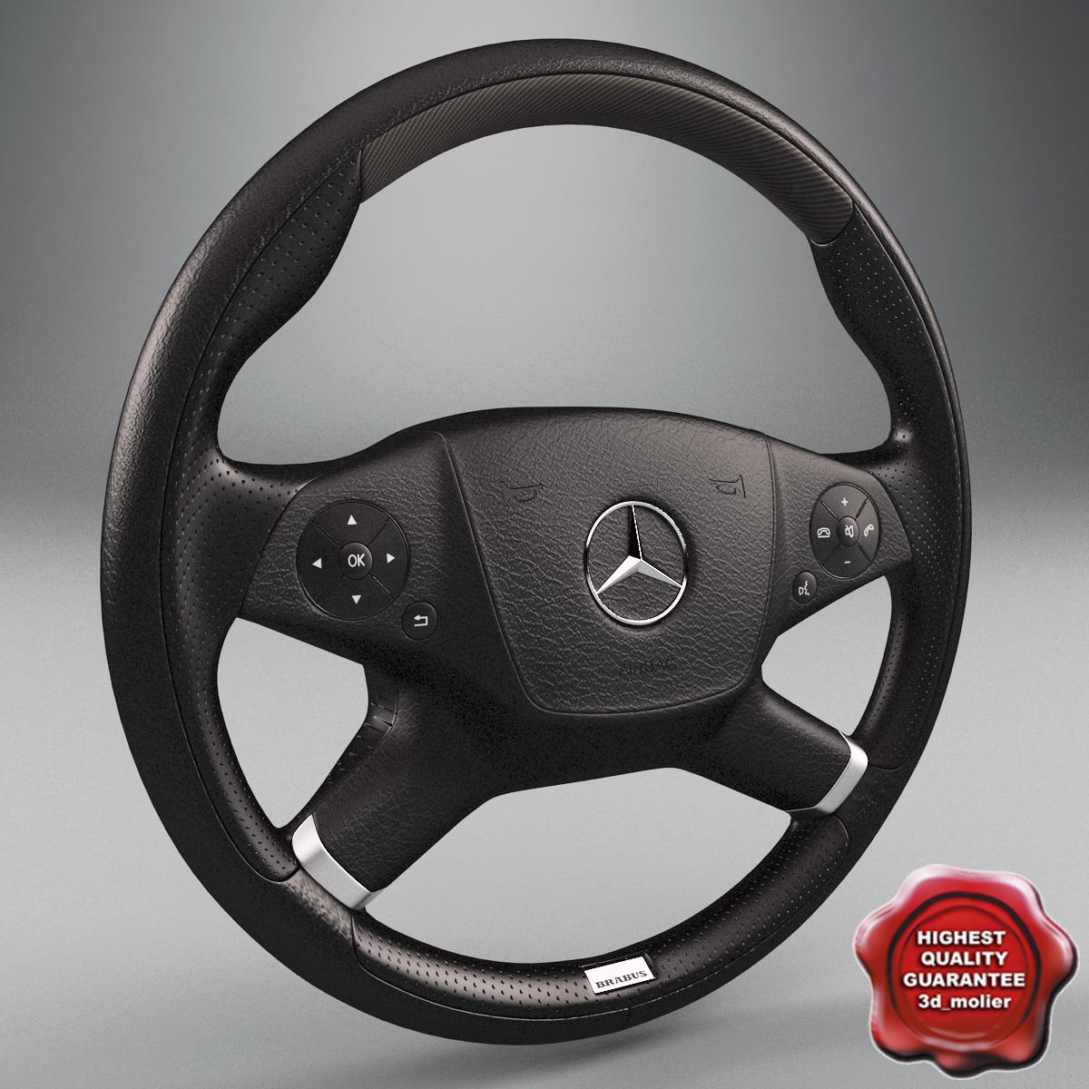 lwo mercedes steering wheel