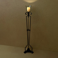 3ds max fixture sconce light