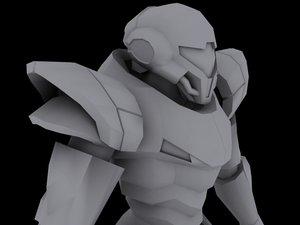 3dsmax samus aran - armor