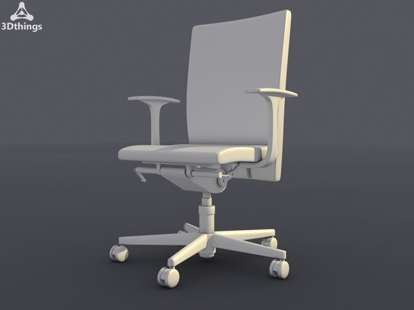 3d model conference chair mr charm