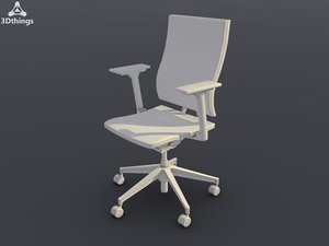 3d model conference chair open mind