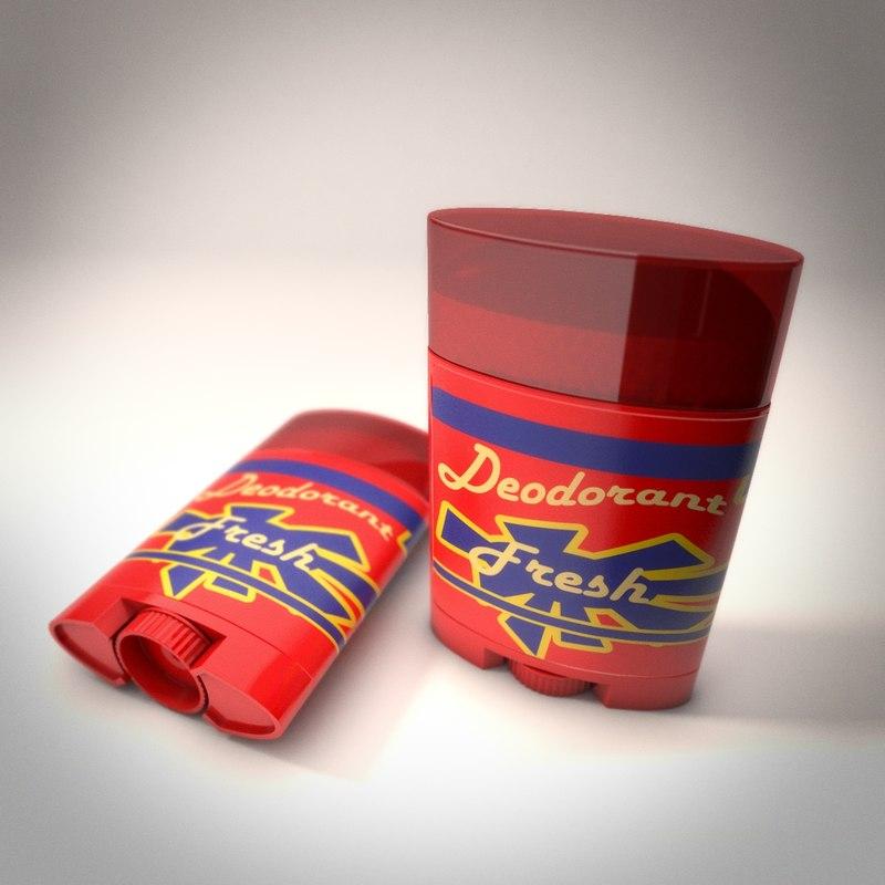 deodorant obj
