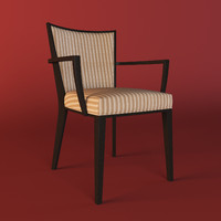 3d model of dining chair tonon
