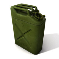 Jerrycan US WW2 (gas can)