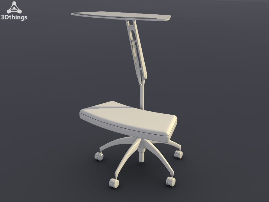 3ds max conference chair open work