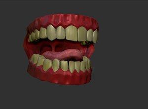 cavity 3d obj