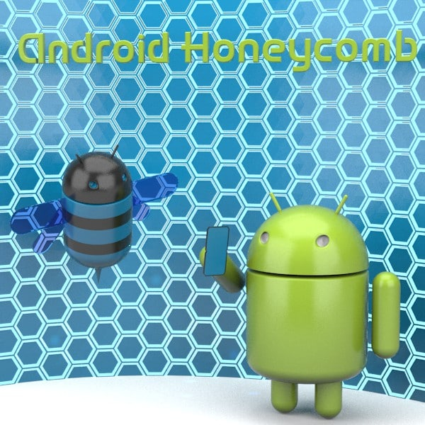 google android honeycomb characters 3d 3ds