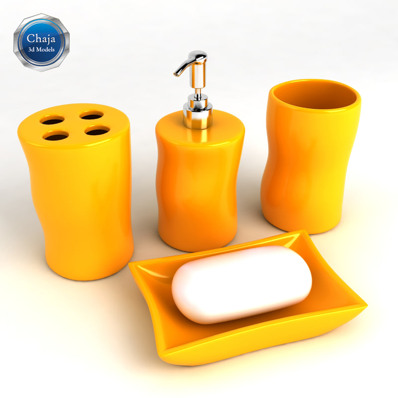 3d bathroom accessories bath model for 3d bathroom accessories