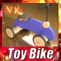 Wooden Toys - Bike.