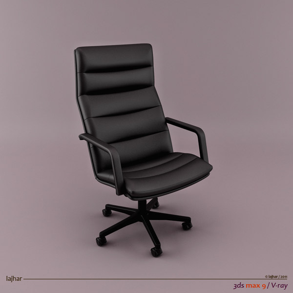 3d geoffrey harcourt channel chair