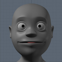 3d obj cartoon character