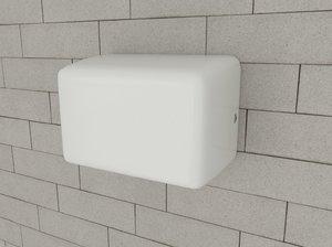 3dsmax hand dryer