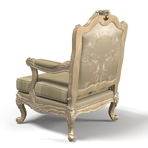Jumbo Classic Collection Luxury Baroque Chair Armchair Seat Wood Carving  Carwed