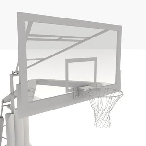 3d basketball net practice
