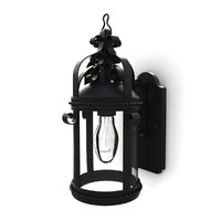 Outdoor wall lantern 01