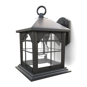outdoor wall lantern 11 3d 3ds