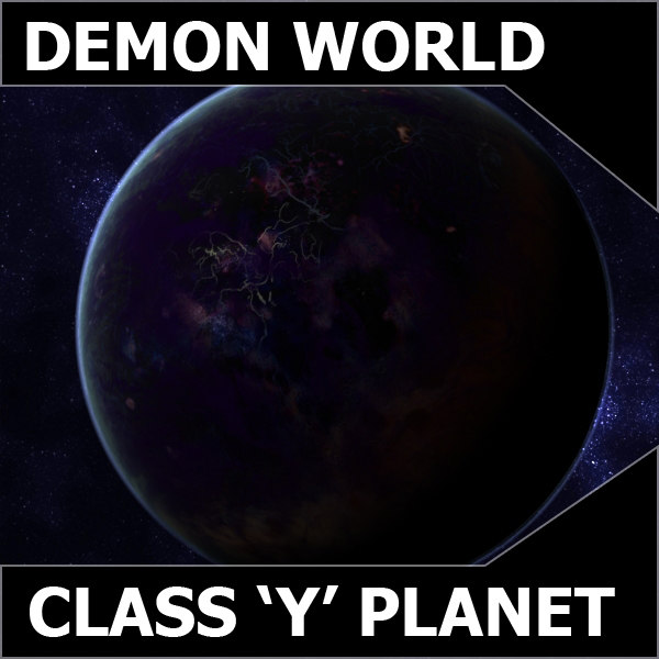 3ds max demon planet earth class
