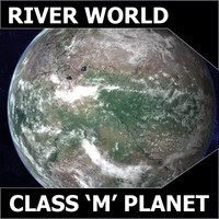 3ds max alien river planet earth