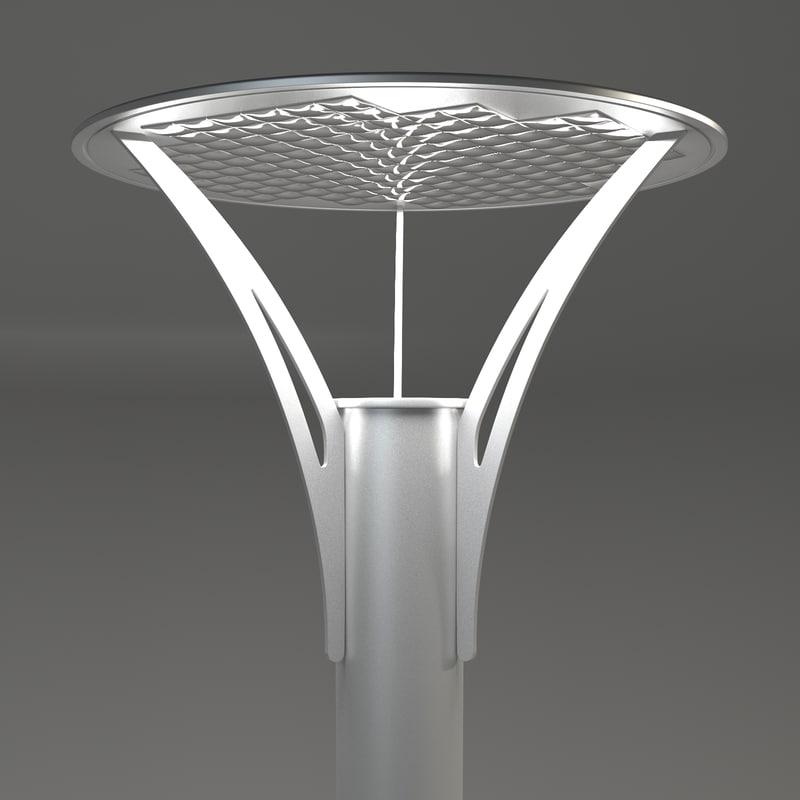 street lamp rosa max