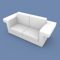 3ds couch sofa