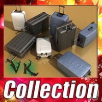 3d suitcase - model