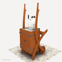 maya wheelbarrow cooler