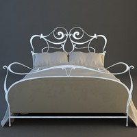 Ornate Bed 6