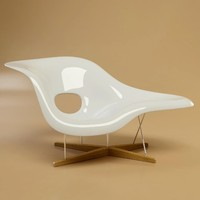 3d max la chaise charles eames