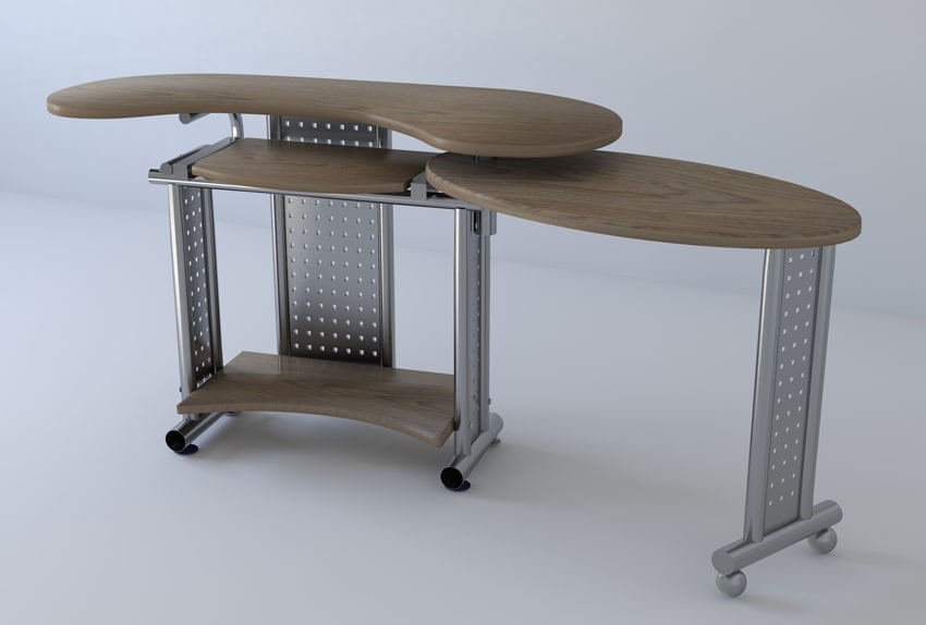 pc table wood max