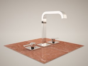 3d grohe allure 20188 - model