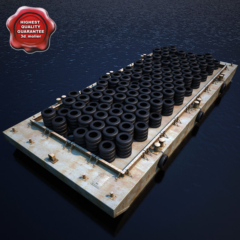3ds max barge v1