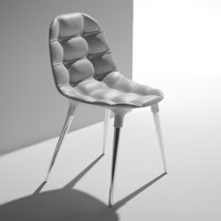 maya leather chair