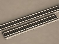 HO SCALE 9-INCH STRAIGHT TRACK