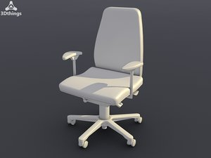 conference chair wien swivel 3d max