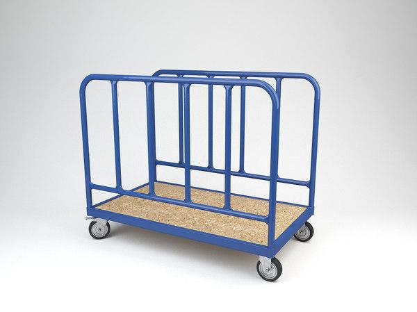 transport trolley c4d