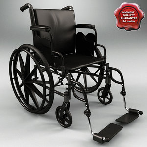 wheelchair cruiser 3 3d 3ds