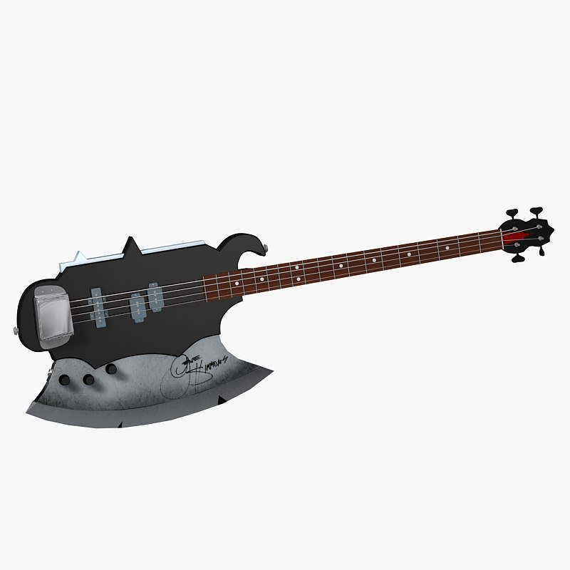 kiss axe bass guitar max
