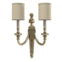 classic traditional  bronze wall lamp candle sconce applique